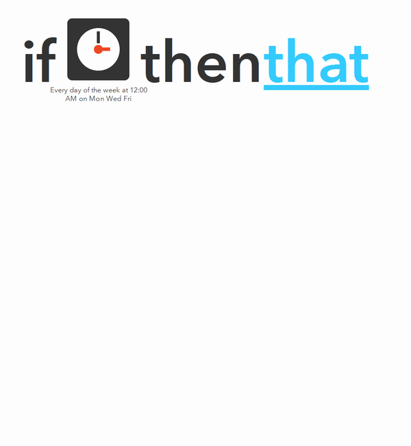 if Date & Time then that - IFTTT を使って Twitter アイコンを日替わりにする