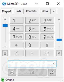 MicroSIP を Asterisk に登録して Windows マシンから電話をかける